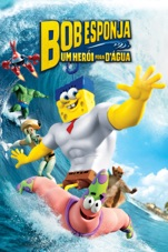 Capa do filme Bob Esponja - Um Herói Fora D'Água
