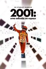 Capa do filme 2001: Uma Odisséia no Espaço