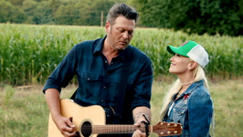 Happy Anywhere (feat. Gwen Stefani) - Blake Shelton Cover Art