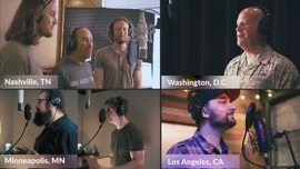 God Bless The U.S.A. (feat. Lee Greenwood & United States Air Force Band) Home Free Country Music Video 2021 New Songs Albums Artists Singles Videos Musicians Remixes Image