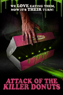 Poster of Attack of the Killer Donuts 2016 Full Hindi Dual Audio Movie Download BluRay 720p
