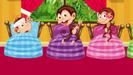 5 Little Monkeys - Zouzounia