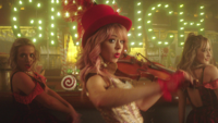 Lindsey Stirling - You're A Mean One, Mr. Grinch (feat. Sabrina Carpenter) artwork