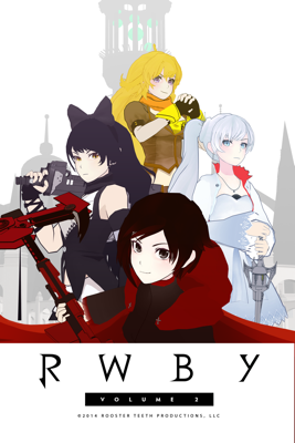Monty Oum - RWBY: Volume 2  artwork