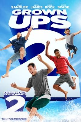 Poster of Grown Ups 2 2013 Full Hindi Dual Audio Movie Download BluRay 720p