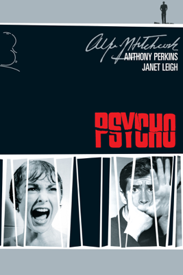 Alfred Hitchcock - Psycho (1960) Grafik