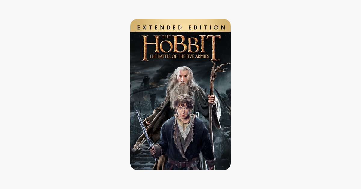 the hobbit battle of the five armies extended edition download