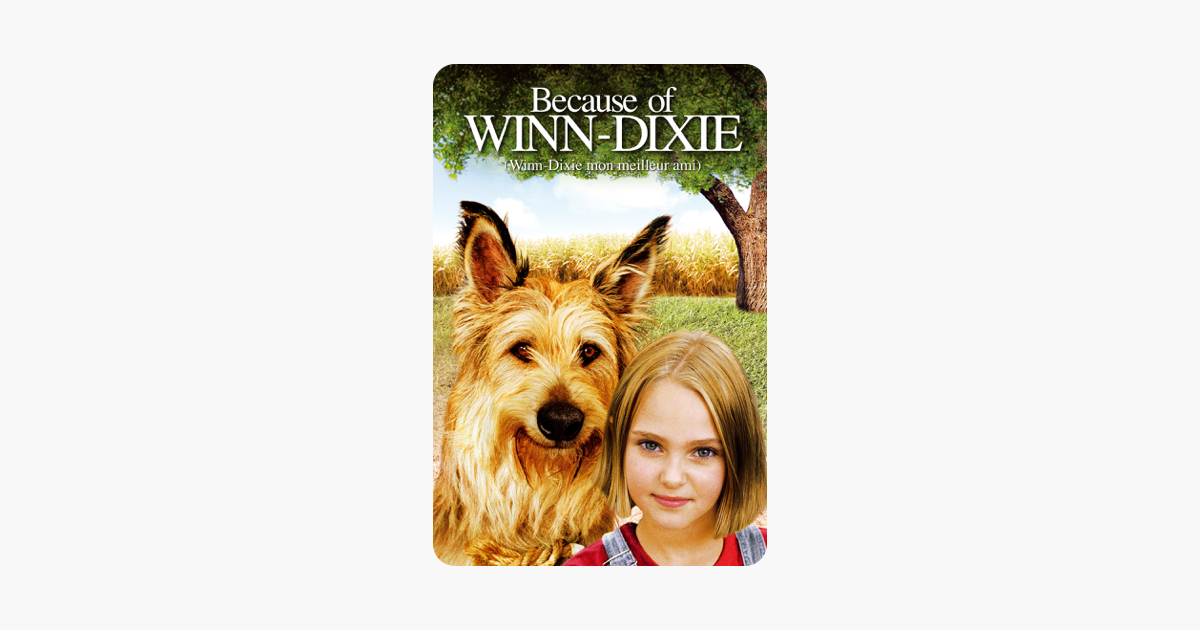 Because of Winn-Dixie\' in iTunes