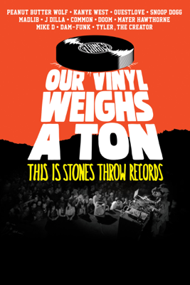 Jeff Broadway - Our Vinyl Weighs A Ton: This Is Stones Throw Records Grafik
