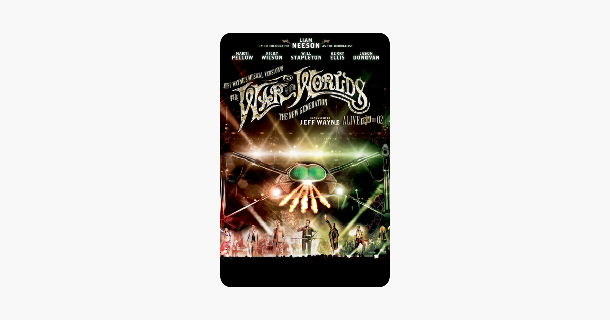 War Of The Worlds New Generation: ‎Jeff Wayne's Musical Version Of The War Of The Worlds