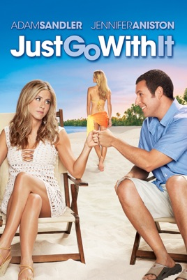 Poster of Just Go With It 2011 Full Hindi Dual Audio Movie Download BluRay 720p