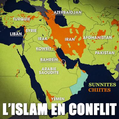 L'Islam en conflit - Le dessous des cartes