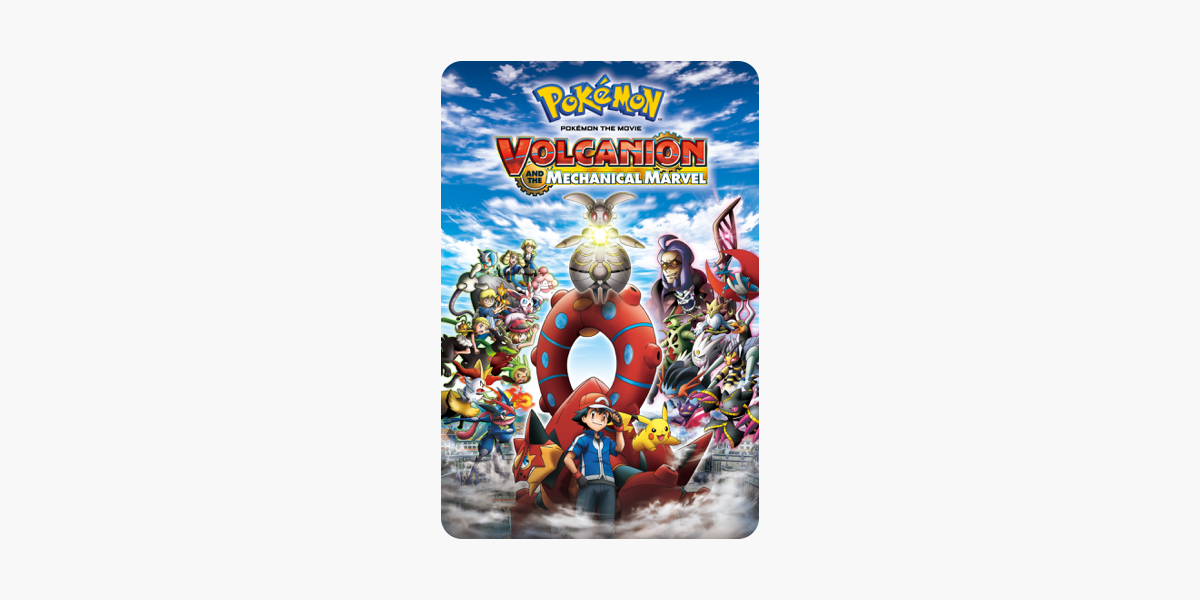 Pokemon The Movie Volcanion And The Mechanical Marvel On Itunes