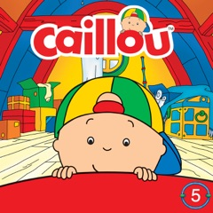 Caillou's Cricket/Dog Dilemma/The Spider Issue