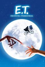 Capa do filme E.T., o Extraterrestre