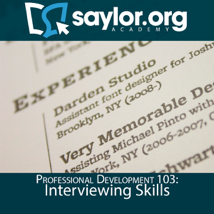 The Saylor Foundation - Interviewing Skills artwork